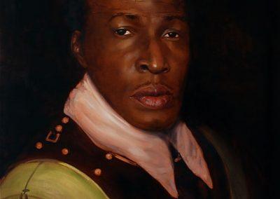 DE OPPRESSO LIBER ( FREE FROM OPPRESSION) - 2009   100 x 80 cm   oilpaint on canvas