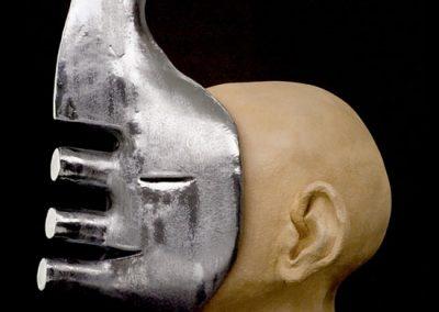 MASK - 2005 | 53 x 36 x 33 cm | Ceramic