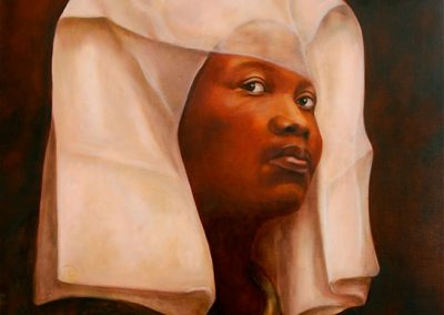 DUX FEMINA FACTI (A WOMAN IS IN CHARGE) - 2010 | 100 x 80 cm | Oil on canvas