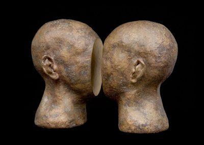 COITUS INTERRUPTUS - 2002 | 31 x 42 x 20 cm | Bronze