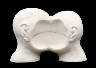 LIFELINE - 2002 | 55 x 37 x 20 cm | Statuario Marble