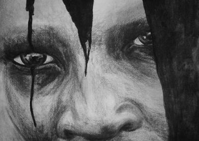 70 x 100 cm | Charcoal on paper