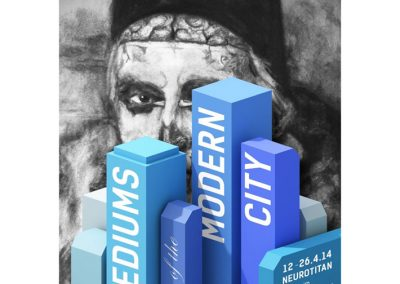 MEDIUMS OF THE MODERN CITY - NEUROTITAN GALERIE BERLIN - Michel Andrade, Daan Botlek, Eveline van de Griend, Alejandra Huerta, Erwin Kho
