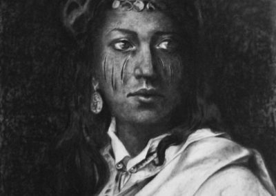 IN THE NAME OF... - 2013 | 140 X 120 cm | charcoal on paper