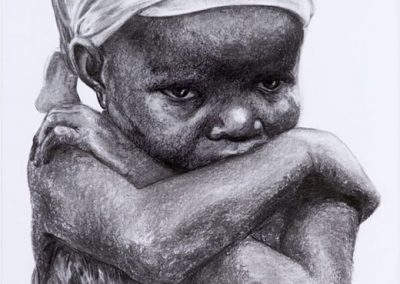 HELMONDE VLISCO | 70 X 100 CM | Charcoal on paper