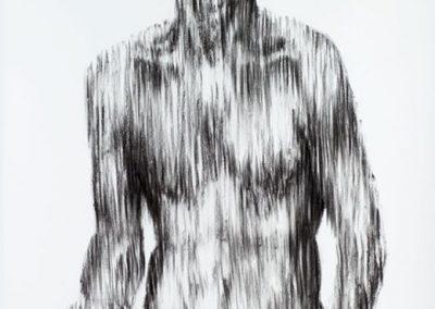PIETA | 120 X 150 cm | Charcoal on paper