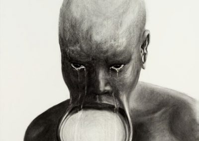 LABRET | 70 x 100 cm | Charcoal on paper